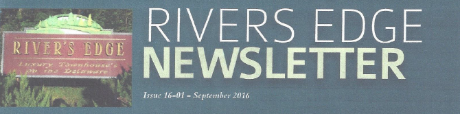Rivers Edge Newsletter